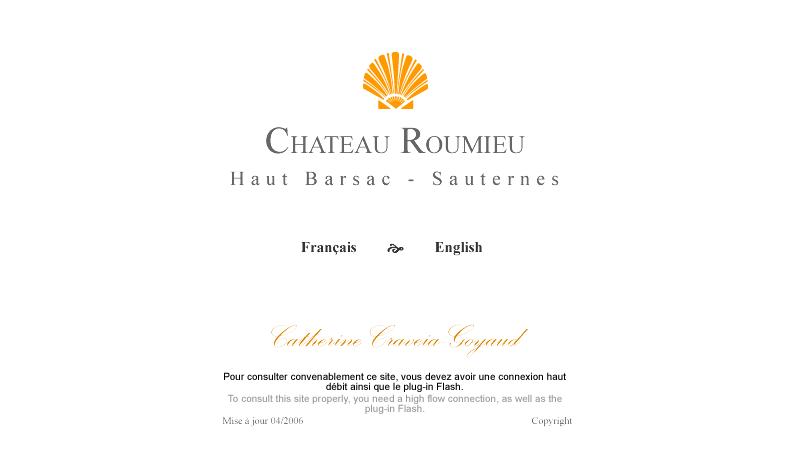 Chateau Roumieu-Lacoste Barsac